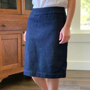 Coldwater Creek Denim Skirt, Size 8P